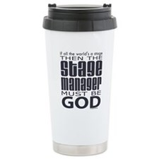 Stage Manager God Travel Mug