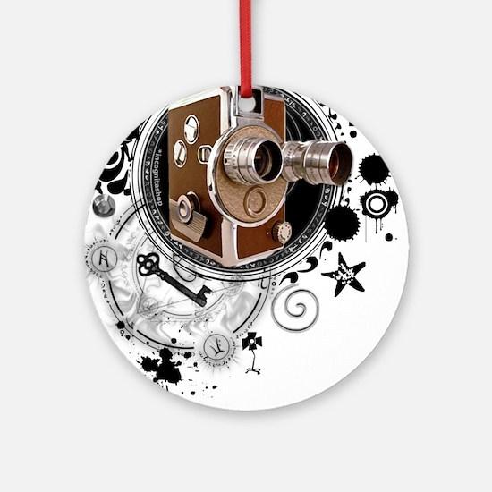 Alchemy of Filmmaking Ornament (Round)