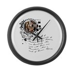 Filmmmaking Alchemy Large Wall Clock