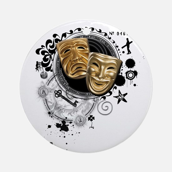 Alchemy of Theatre Production Ornament (Round)