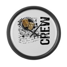 Stage Crew Alchemy Large Wall Clock