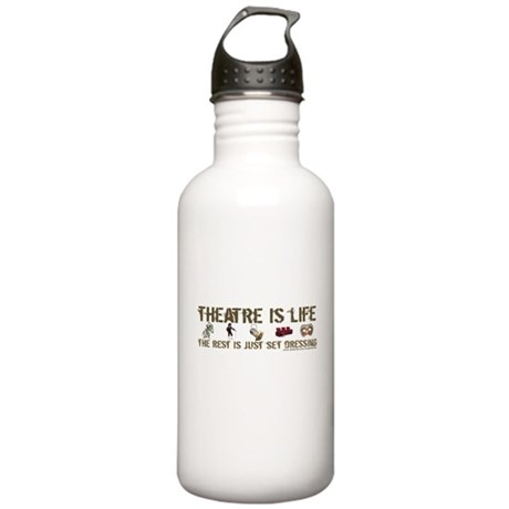 Theatre is Life Stainless Water Bottle 1.0L