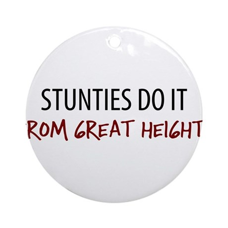 Great Heights Stuntie Ornament (Round)