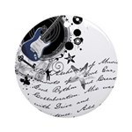 The Alchemy of Music Ornament (Round)