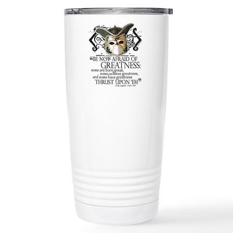 Twelfth Night 2 Stainless Steel Travel Mug