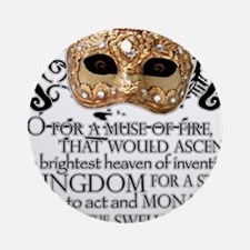 Henry V Ornament (Round)