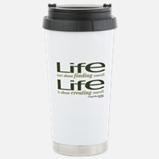 Shaw Quote No. 1 Stainless Steel Travel Mug
