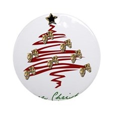 Drama Tree Ornament (Round)