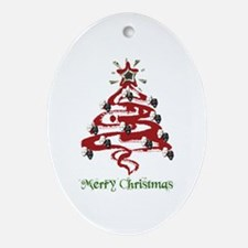 Actors' Christmas Tree Ornament (Oval)