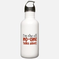 No Talk Elf Water Bottle