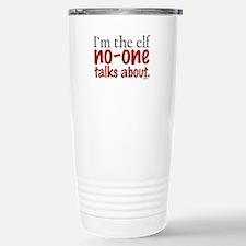 No Talk Elf Stainless Steel Travel Mug