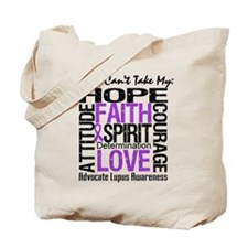 Lupus Can't Take Hope Tote Bag
