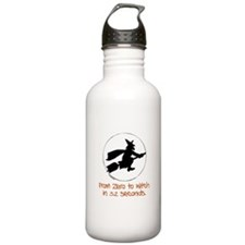 Zero to Witch Water Bottle