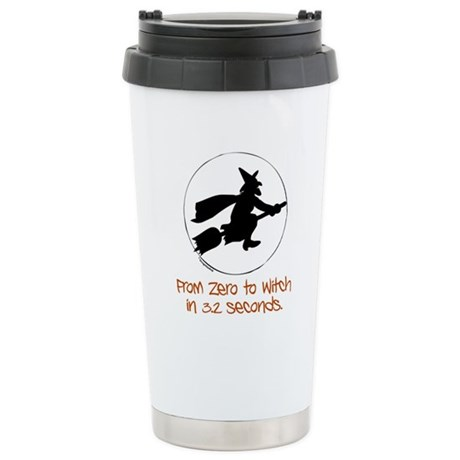 Zero to Witch Stainless Steel Travel Mug