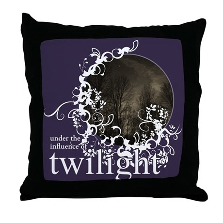 Twilight Influence Throw Pillow