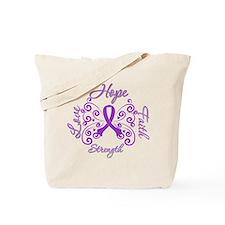 Lupus Hope Faith Love Tote Bag
