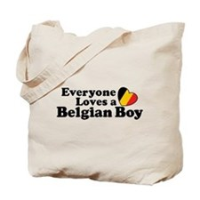 Belgian Boy Tote Bag