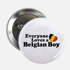 "Belgian Boy 2.25"" Button"
