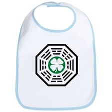 Green Luck Dharma Bib