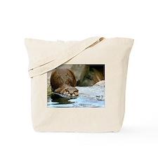 River Otter (Gone Fishin) Tote Bag
