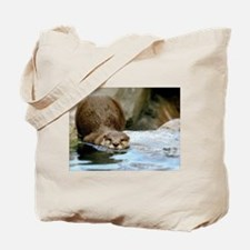 River Otter (Gone Fishin') Tote Bag