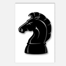 Chess Knight Postcards (Package of 8)