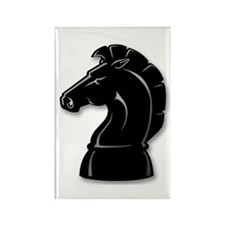 Chess Knight Rectangle Magnet