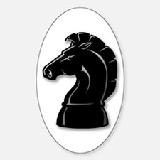 Chess Knight Oval Decal