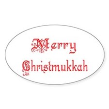 Merry Christmukkah Decal