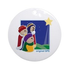 Original GPS Ornament (Round)