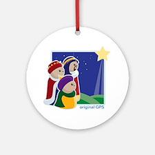 Original GPS Ornament (Round)