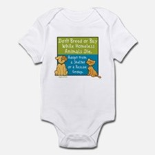 Adopt Shelter Rescue Infant Bodysuit