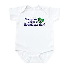 Everyone Loves a Brazilian Girl Infant Bodysuit