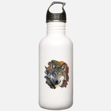 Gray Wolf Water Bottle