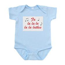 Fa la la la latkes Infant Bodysuit