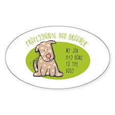 Funny Dog Groomer Decal