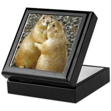 Prairie Dog Kiss Keepsake Box
