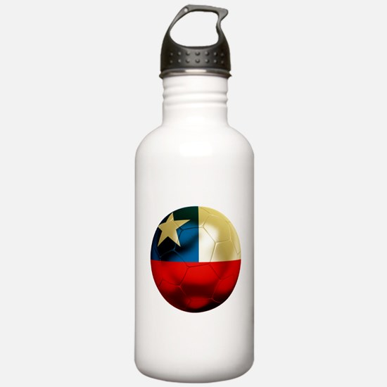 Chile Football Water Bottle