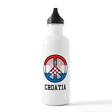 Croatia Peace Water Bottle