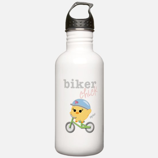 Biker Chick Water Bottle