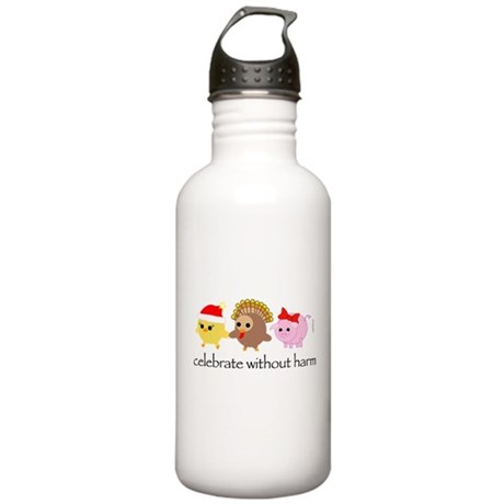 Celebrate Without Harm Stainless Water Bottle 1.0L