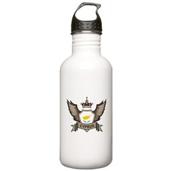 Cyprus Emblem Water Bottle