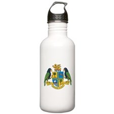 Dominica Coat Of Arms Water Bottle