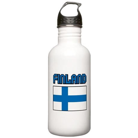 Finland Flag Stainless Water Bottle 1.0L