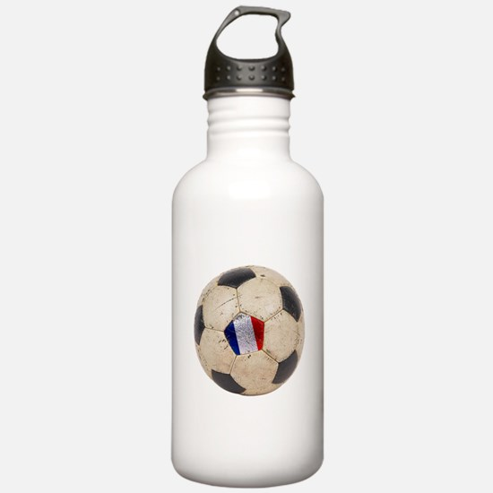France Football Water Bottle