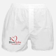 I Love Blowjobs! Boxer Shorts