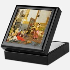 The Harem Dance By Giulio Rosasti Keepsake Box
