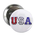 USA Chrome Button