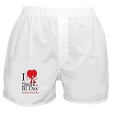 I Love Steak & BJ II Boxer Shorts