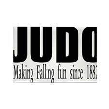 Cute Judo Rectangle Magnet